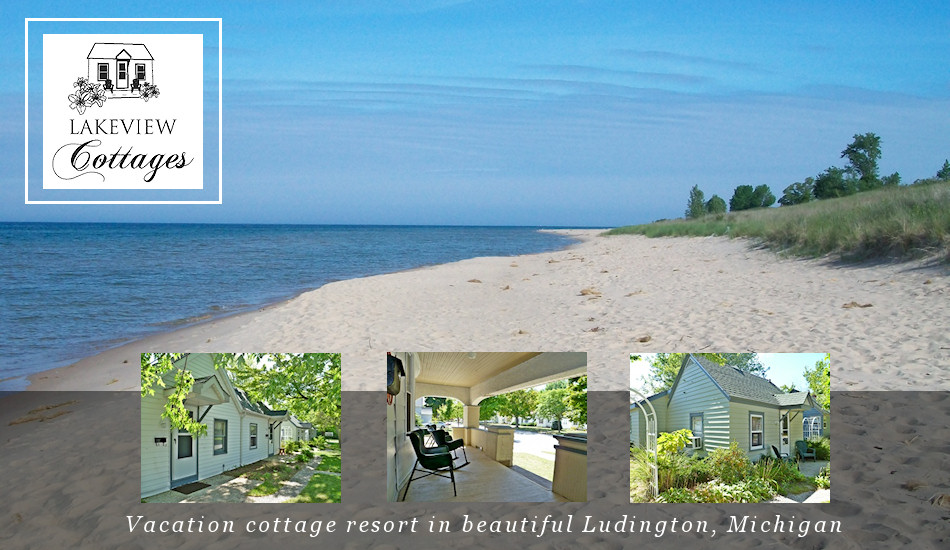 Lakeview Cottages In Ludington Mi Vacation Lodging Cottage Resort Als